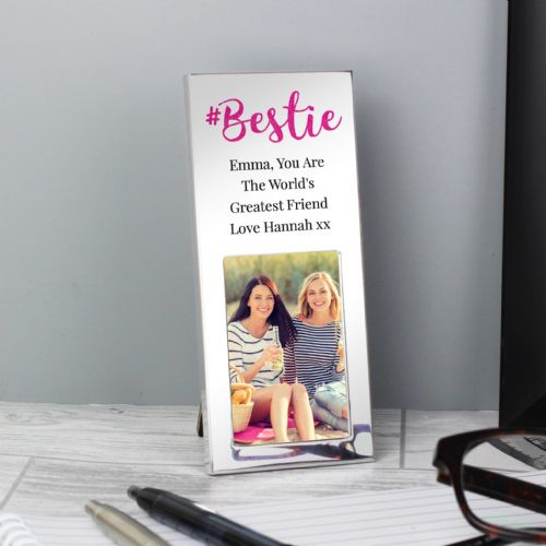Personalised #Bestie 2x3 Photo Frame Gif idea for a special friend